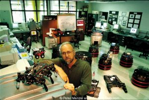 Ron Arkin and his robots