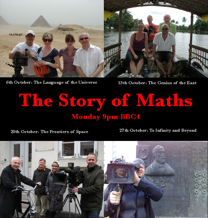 The Story of Maths with Marcus de Sautoy