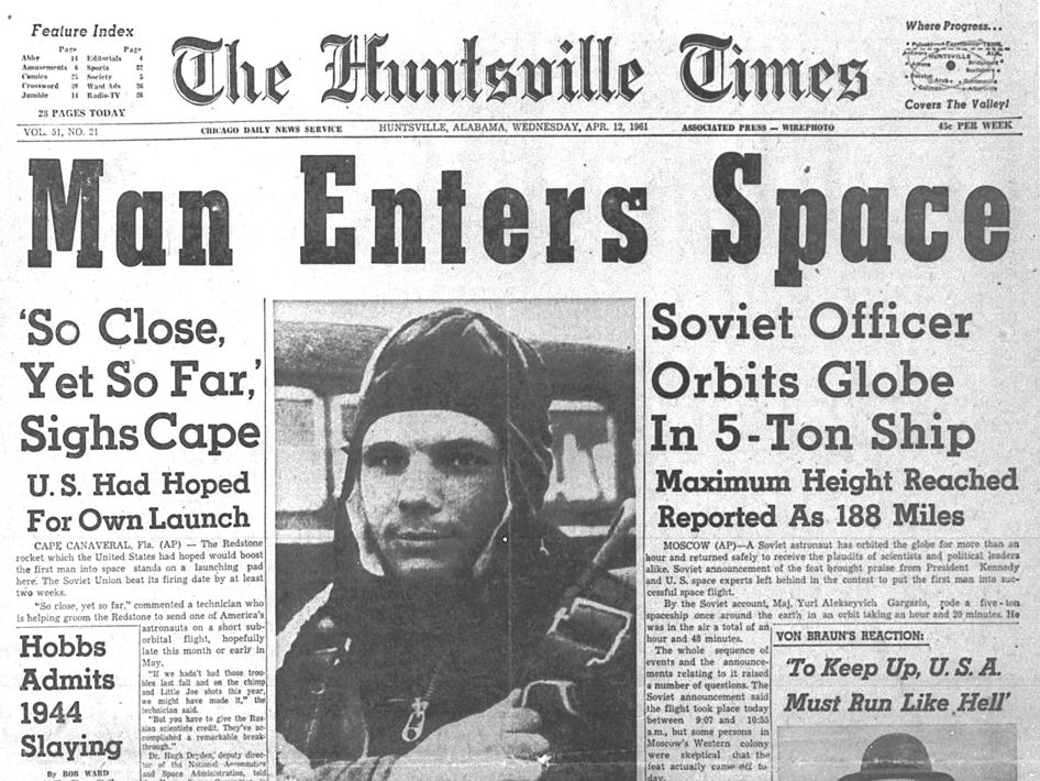 Yuri Gagarin news